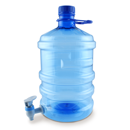 GALON AIR 5 LTR BIRU + KRAN
